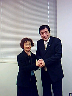 福井県選出国会議員と懇談