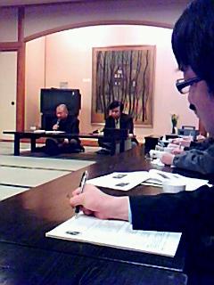 宮脇昭先生を囲んで環境井戸端会議