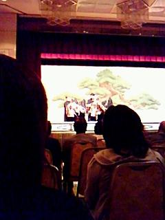 近松座・人形浄瑠璃「三番叟」文化課の出前講座楽しむ