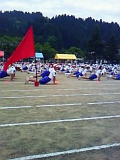 河和田小学校「体育大会」スタート