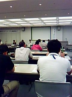 ふくいエコグリーンツーリズモネットワーク発足に向け、井上弘司氏講演