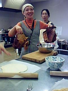 おとなの体験学習*いのしし調理実習