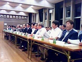 河和田地区鯖江市長と語り合う会開催