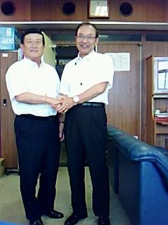 鯖江市議会臨時議会開催され、議長副議長決まる