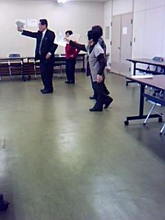 河和田版創作狂言「うるし」の練習再開