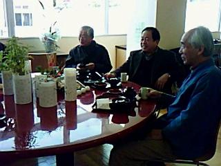 うるしの里会館・喫茶椀椀、ランチメニューの試食会