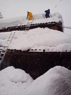 河和田地区「除雪基地」が立ち上がる