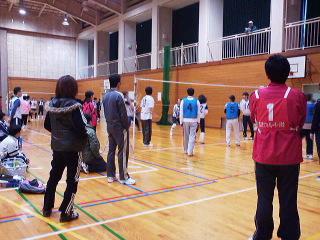河和田地区ソフトバレーボール大会