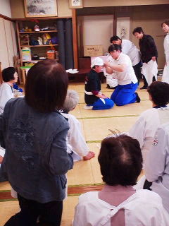 河和田地区日赤奉仕団の総会