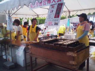 鯖江市連合婦人会の屋台店