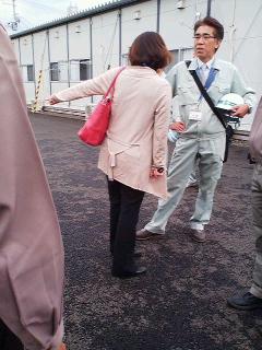 仙台市あすと長町仮設住宅を訪ねる