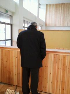 豊小学校校舎改築第1工事現場視察