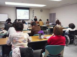 さばえっこ図書ボランティアネットワーク、谷出先生の研修会