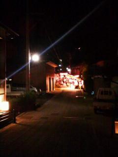 敷山神社の秋祭り