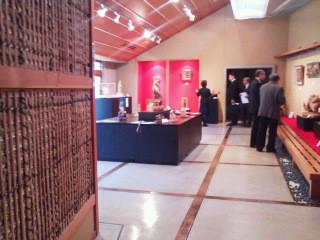 井波彫刻総合会館に市民創世会で視察研修