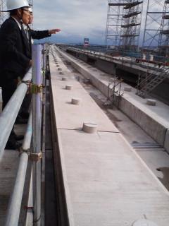 高岡市の整備新幹線の視察研修