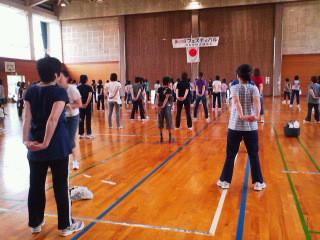 河和田地区婦人会第25回フェスティバル